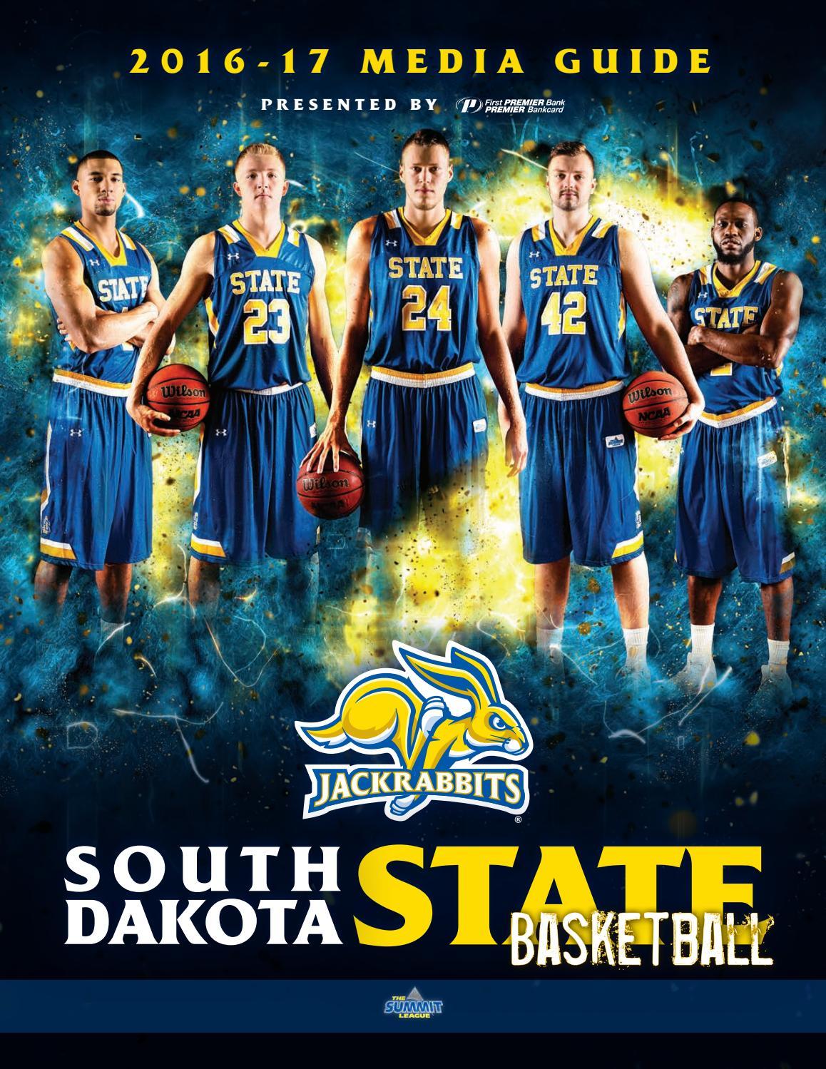 2016-17 Men s Basketball Media Guide by South Dakota State University  Athletics - issuu 928ed1461
