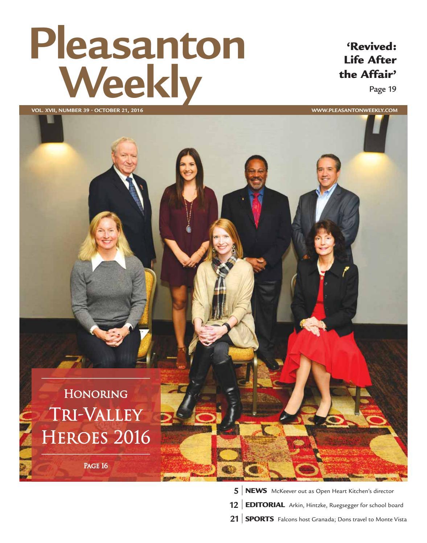 Pleasanton Weekly October 21 2016 By Pleasanton Weekly Issuu