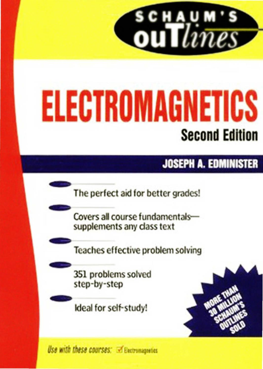 Electromagnetics - Schaum - 2nd Edition - Joseph A