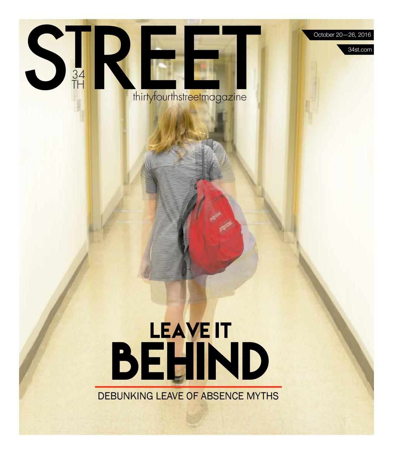 10202016 By 34th Street Magazine Issuu
