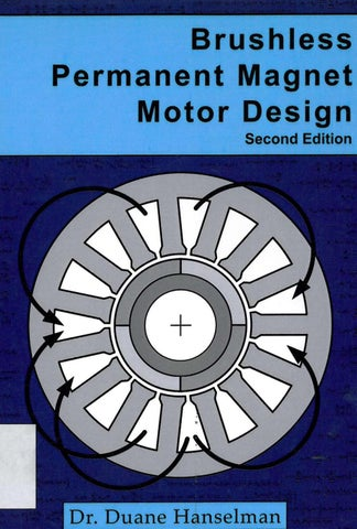 Page 1 Brushless Permanent Magnet Motor Design Second Edition