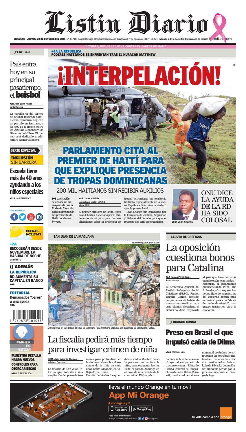 31c705f16a LD 20102016 by Listín Diario - issuu
