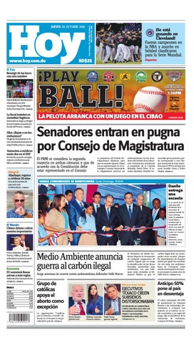 5f8e2b1834ae Periódico 20 de octubre, 2016 by Periodico Hoy - issuu
