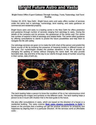 Bright Future Offers Expert Guidance Through Astrology