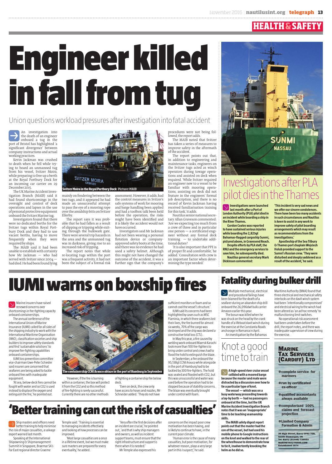 Nautilus Telegraph November 2016