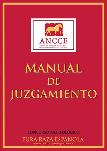 Manual de Juzgamiento - ANCCE 2016 by ANCCE - issuu