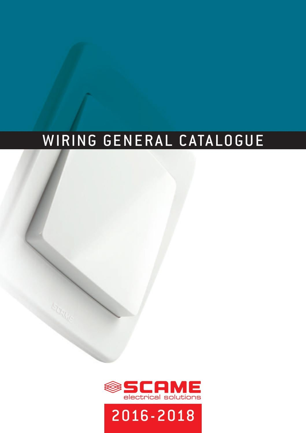 General Catalogue 2016 2018 Wiring Accessories English By Scame Switch 1 Gang 2 Wire 10a No Neutral Presence Detector Timer Parre Spa Issuu