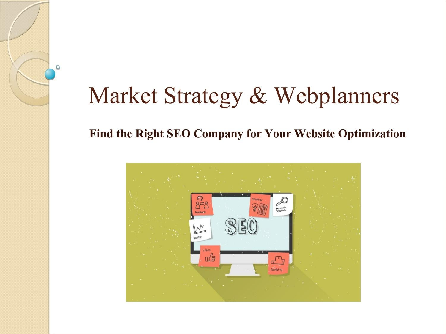 Seo company melbourne - Market Strategy   Webplanners by Webplanners - issuu 5670af2740b