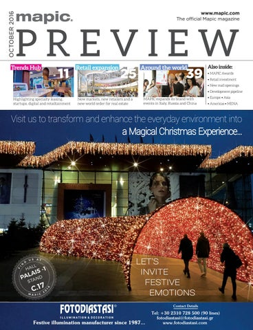 a5921cd1354f43 Mapic 2016 preview magazine by REED MIDEM REAL ESTATE SHOWS - issuu