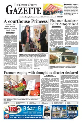 Centre County Gazette October 20 2016 By Indiana Printing