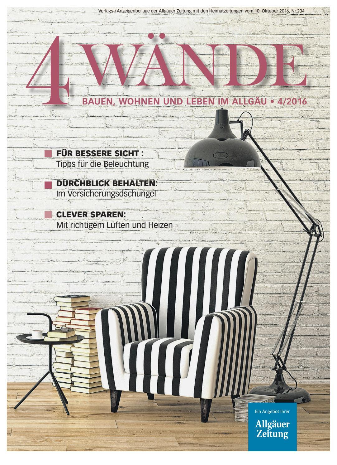 4 Wände, Ausgabe Kempten By Rta.design GmbH   Issuu