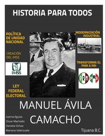 Revista Manuel Avila Camacho b...