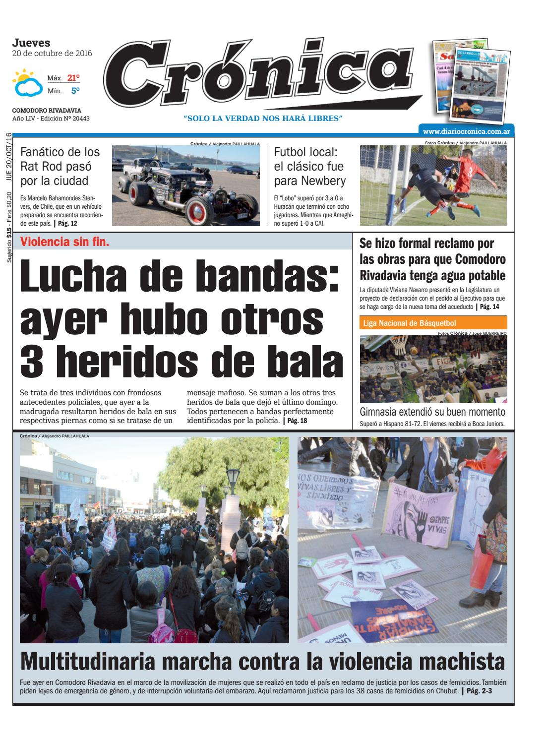 A2c7963dfba4a242441a941b35b62b4c by Diario Crónica - issuu