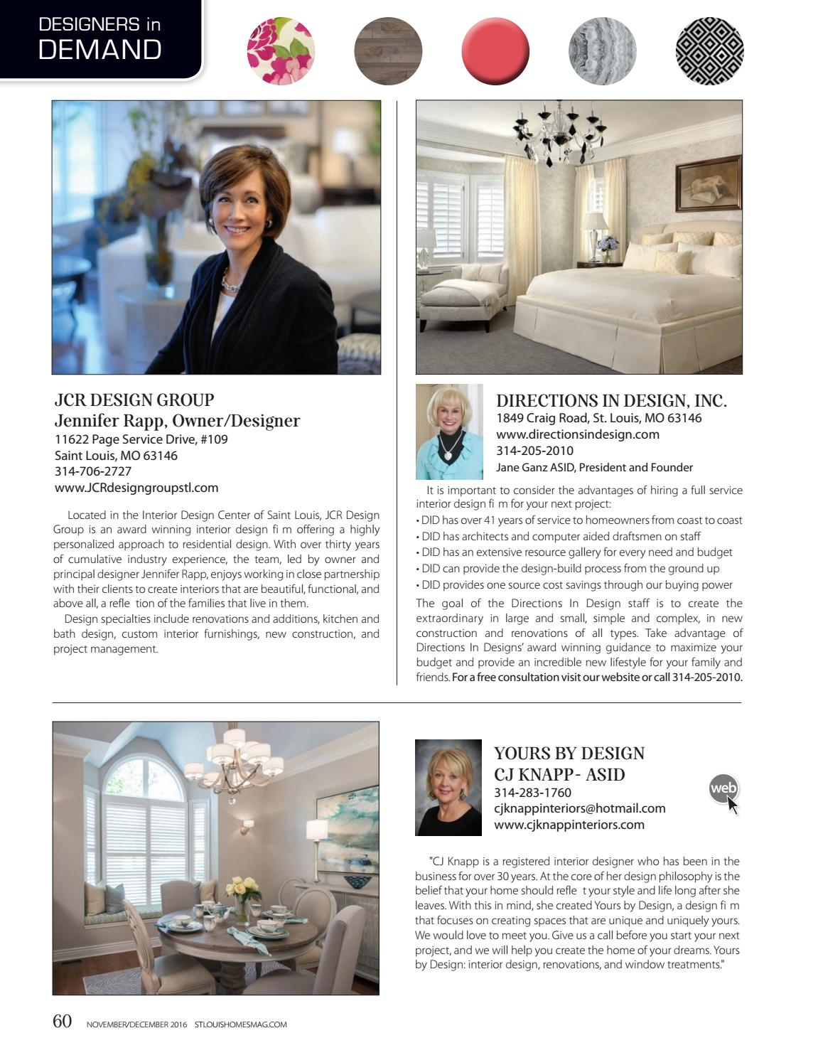 Novemberdecember 2016 By St Louis Homes Lifestyles Issuu
