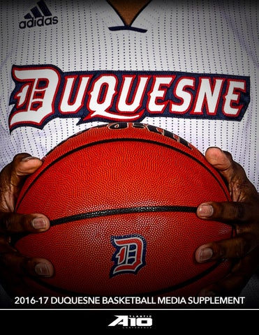 2016-17 Duquesne Men's Basketball Media Supplement by Dave