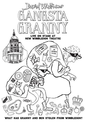 Granny - Free Coloring Pages