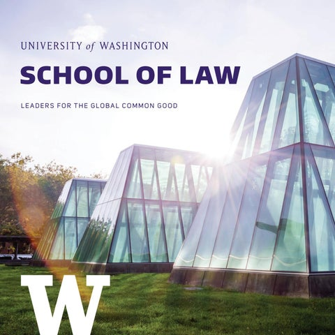 University Of Washington School Of Law Admissions Brochure By Uw