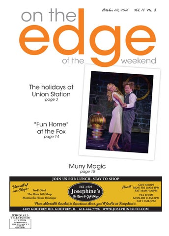 102016 edge of the weekend by edwardsville publishing issuu page 1 fandeluxe Choice Image