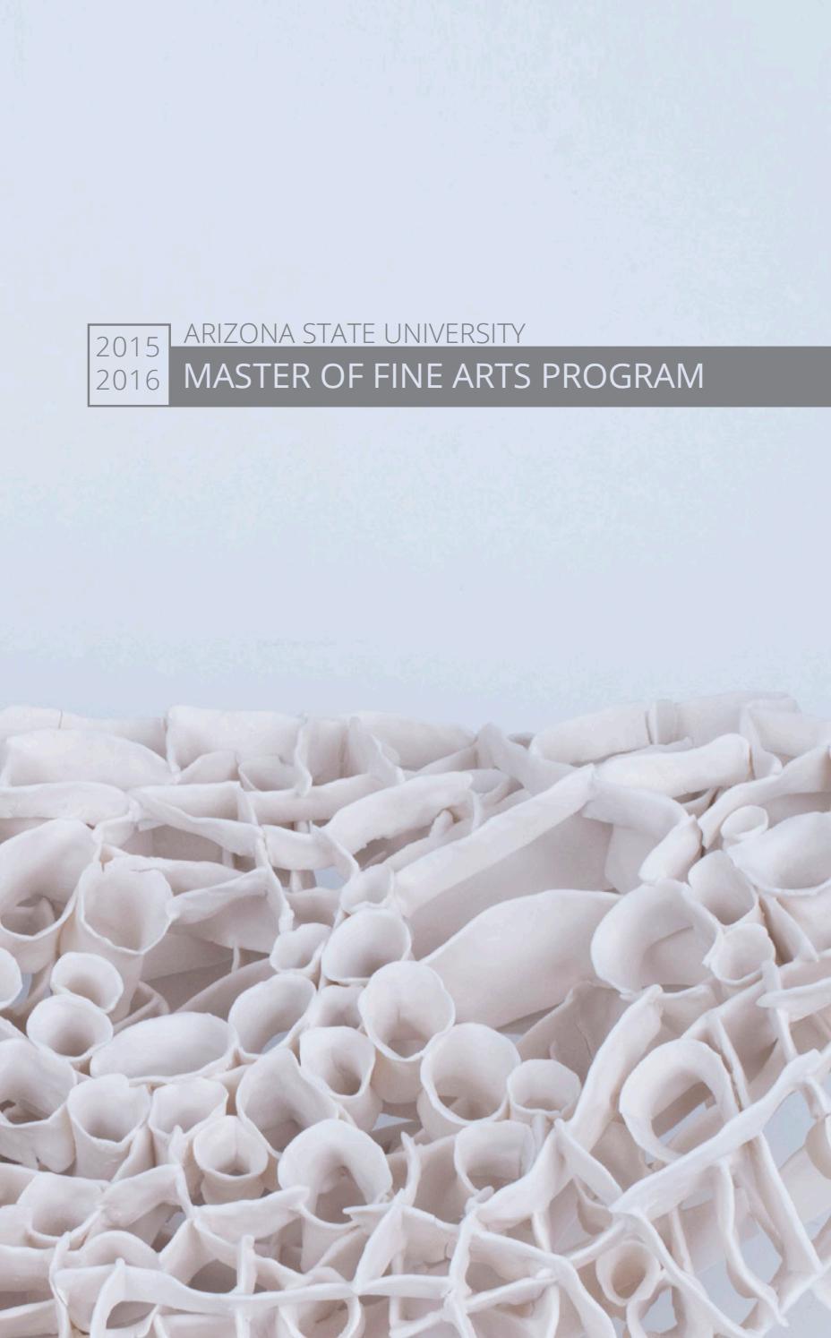 Marvelous Asu Master Of Fine Arts Program By Arizona State University Download Free Architecture Designs Intelgarnamadebymaigaardcom