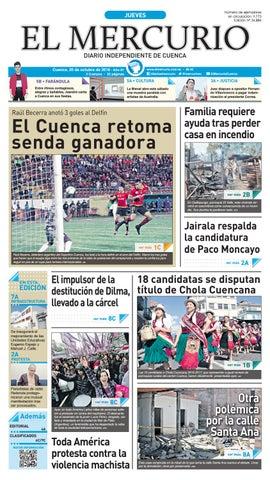 hemeroteca 20-10-2016 by Diario El Mercurio Cuenca - issuu 67b5caa6ada4d