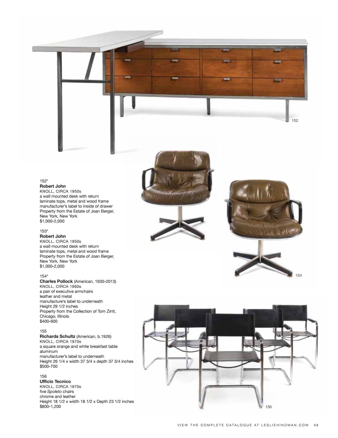 Sale 467 | Modern Design By Leslie Hindman Auctioneers   Issuu