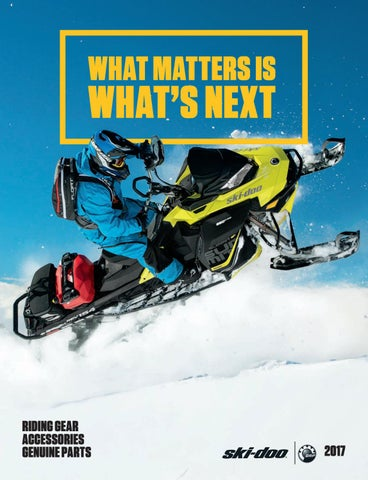 Ski-Doo catalogue 2017 by Logos-Kiev LTD - issuu
