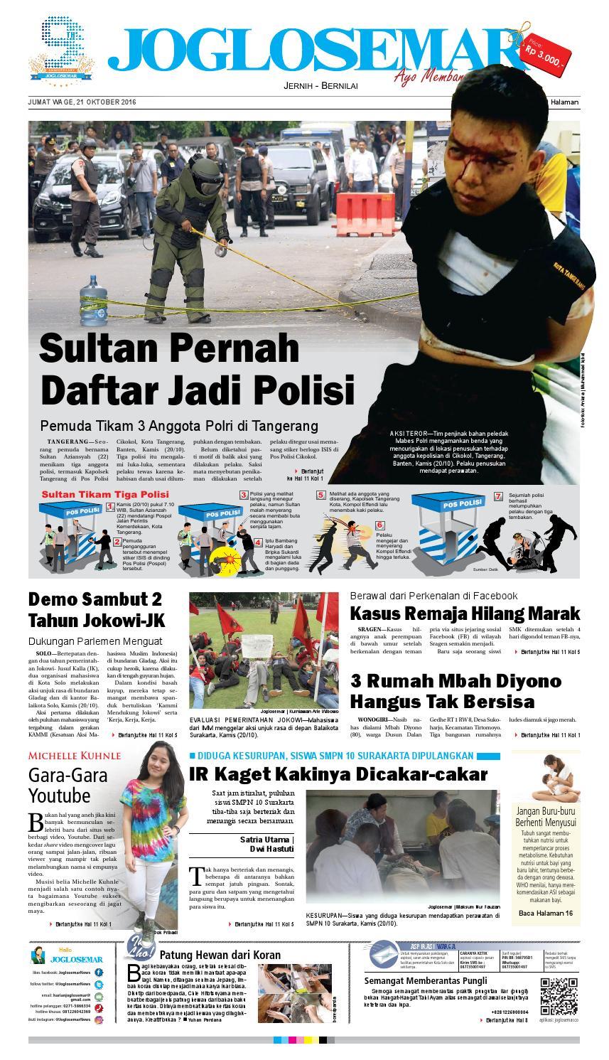 E paper 21 oktober 2016 by PT Joglosemar Prima Media - issuu 9ec12d8480