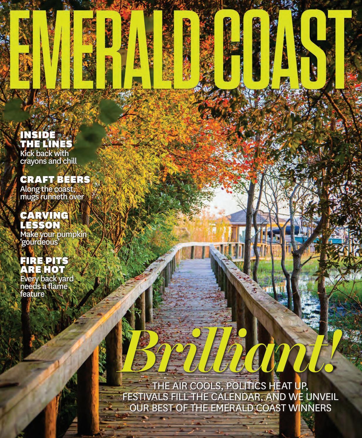 emerald coast magazine october november 2016 by rowland