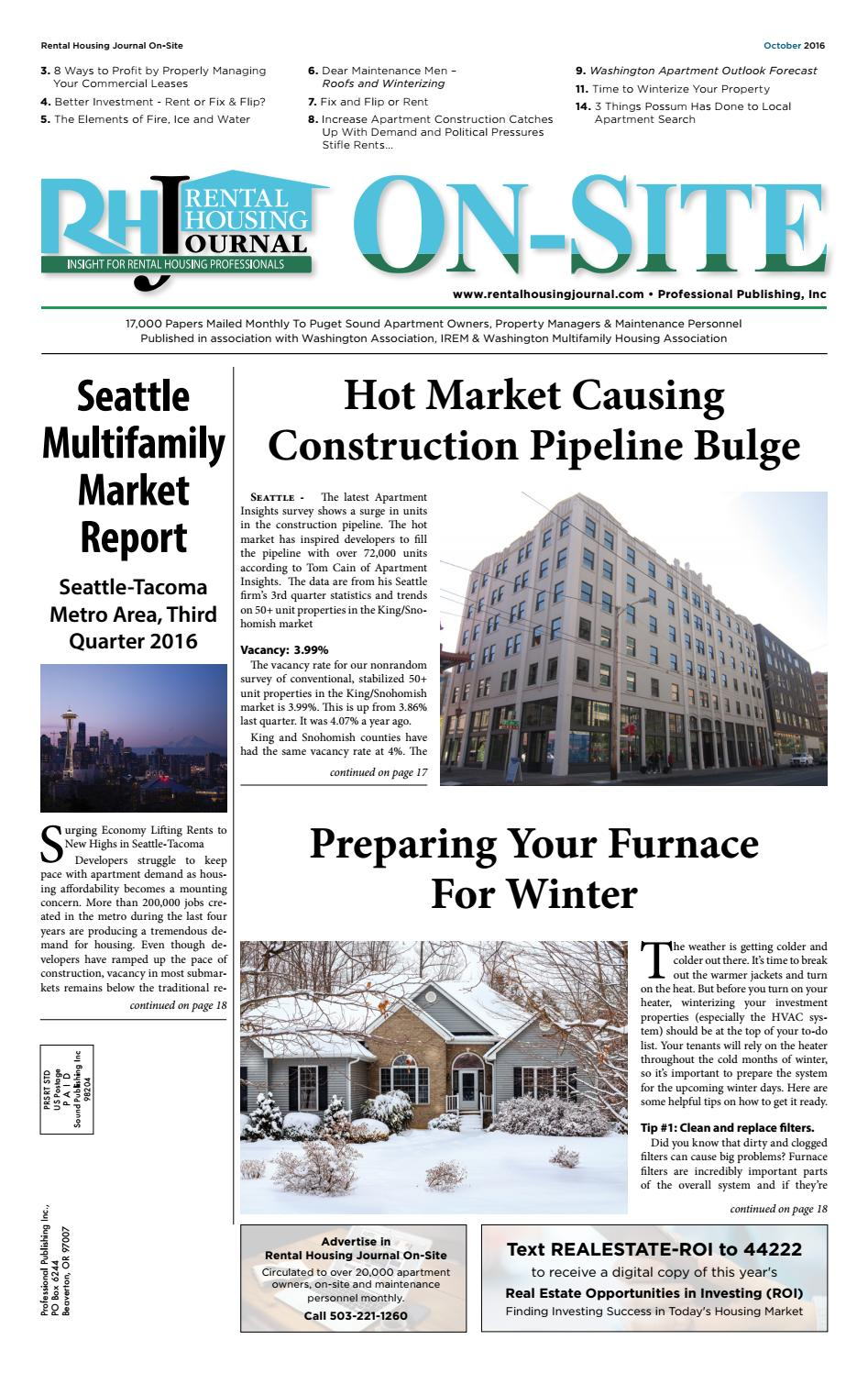 rental housing journal on-site october 2016 by professional