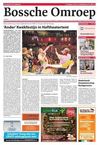 dd830a35bf3454 Bo week 42 2016 by De Persgroep Nederland - issuu
