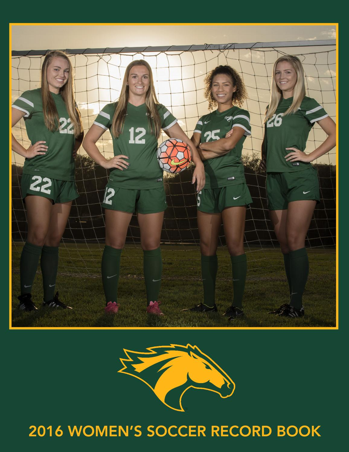 Cal Poly Pomona Women S Soccer 2016 Record Book By Billy Bronco Issuu