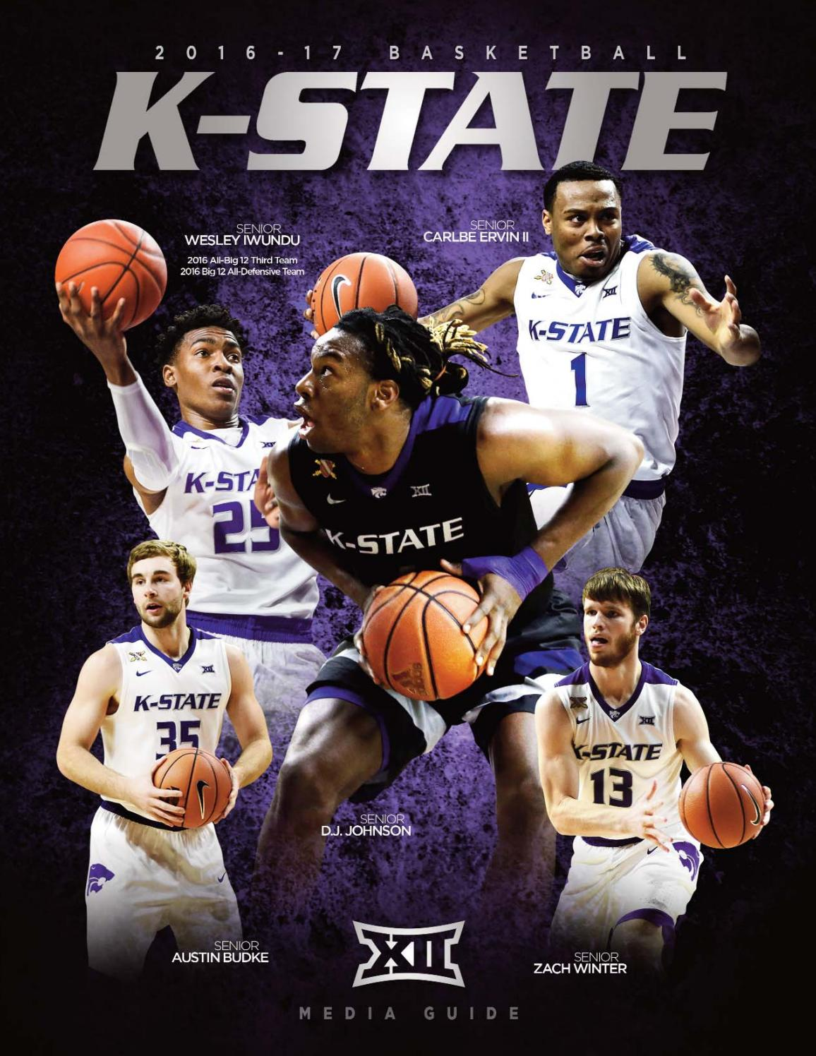 huge selection of aff87 b55a6 2016-17 Kansas State Men s Basketball Guide by K-State Athletics - issuu