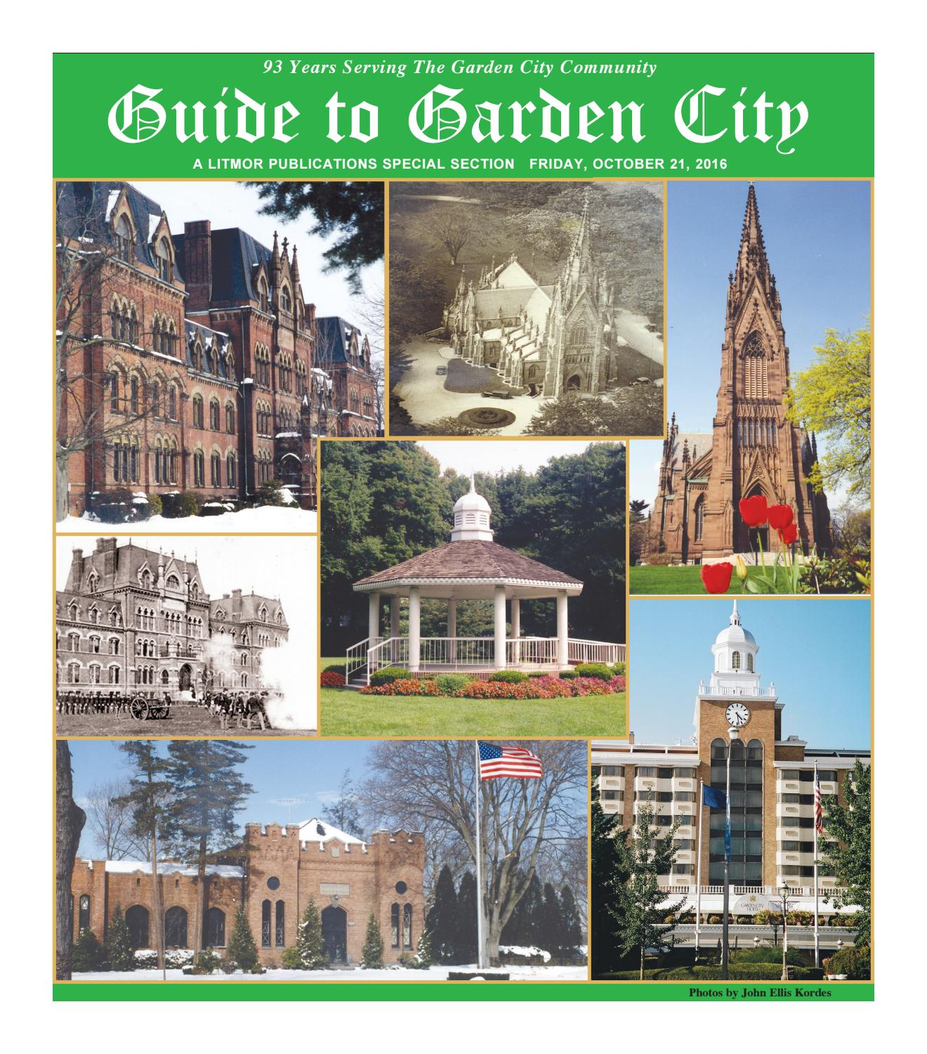 the guide to garden city 2016 by litmor publishing issuu - Fairchild Funeral Home Garden City