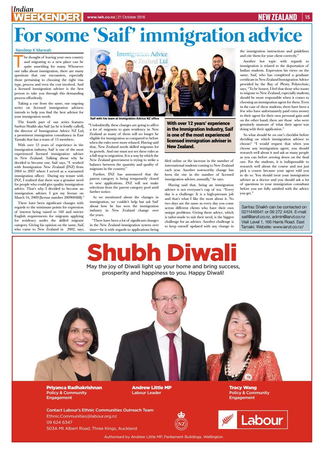Indian Weekender 21 October 2016 by Indian Weekender - issuu
