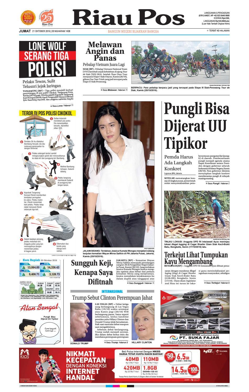2017 03 25 By Riau Pos Issuu Tcash Vaganza 17 Botol Minum Olahraga Discovery 750ml Hitam 2016 10 21