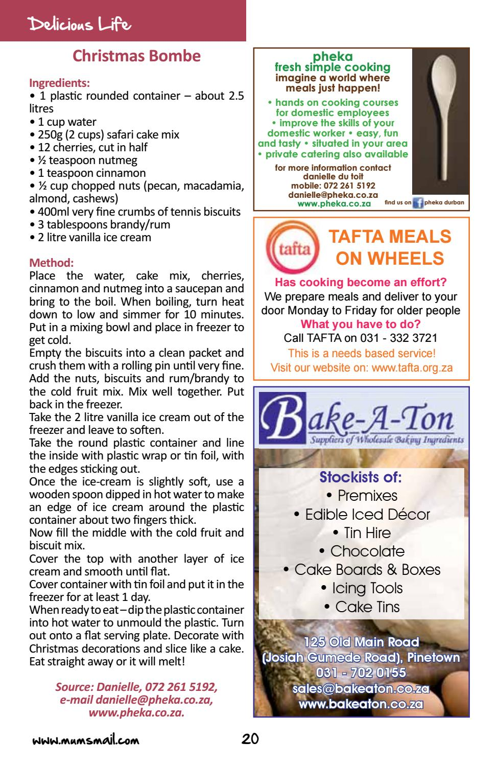 Mum's Mail Durban November 2016 by Victoria Arthur - issuu