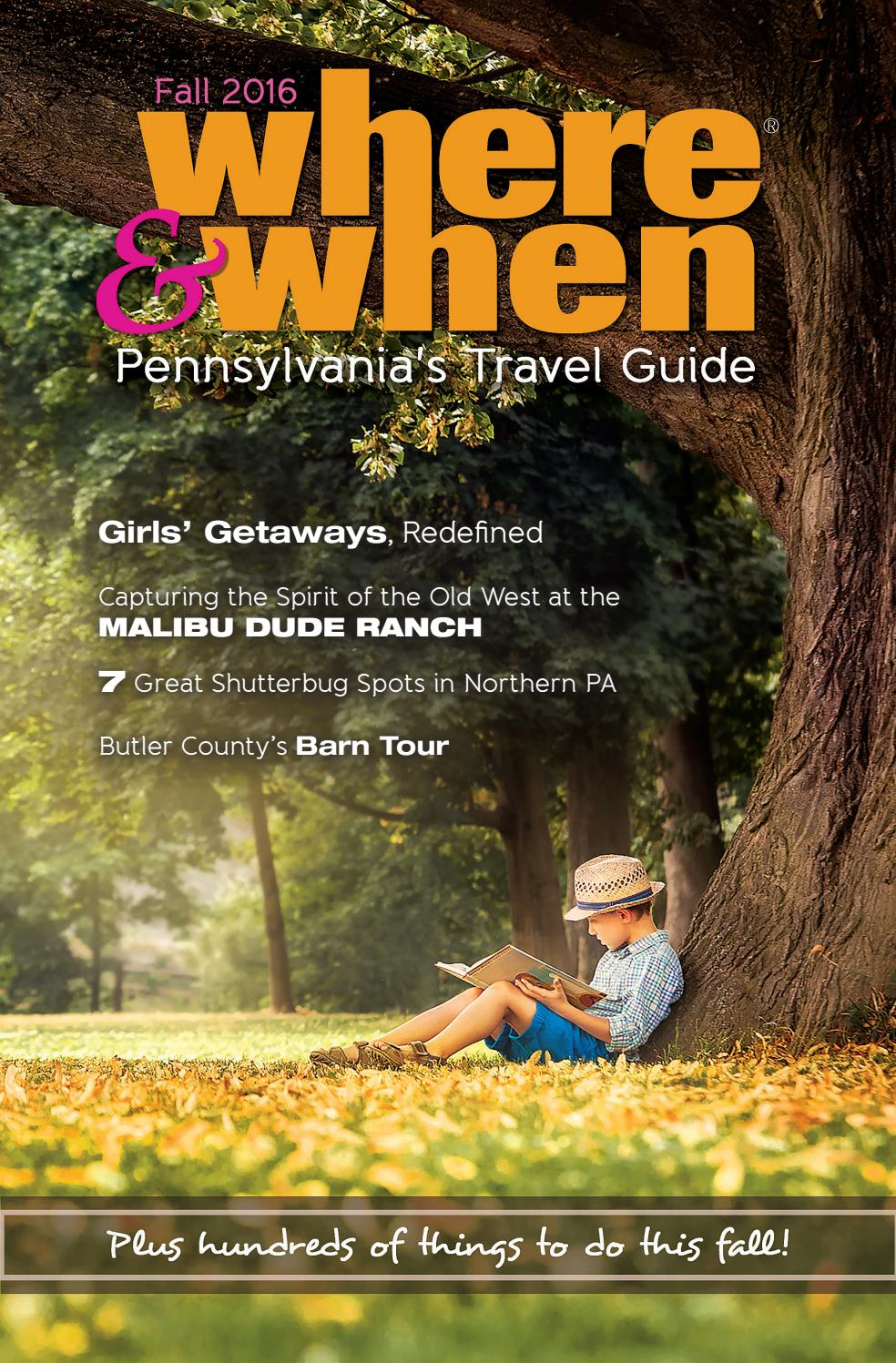 Where & When PAs Travel Guide Fall 2016 by Where & When ...