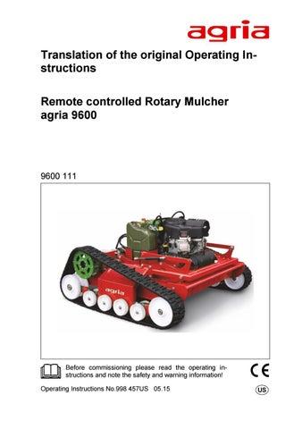Brukerveiledning 9600 en by Maskin Importøren AS - issuu