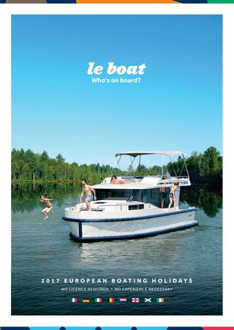 Le Boat Catalogue 2017 English By Sunway Group Issuu