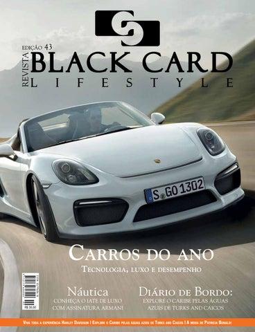 19239d1db Revista Black Card Lifestyle - Edição 43 by Revista BlackCard ...