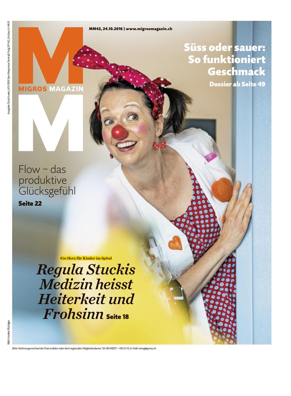 Migros magazin 43 2016 d os by Migros-Genossenschafts-Bund - issuu