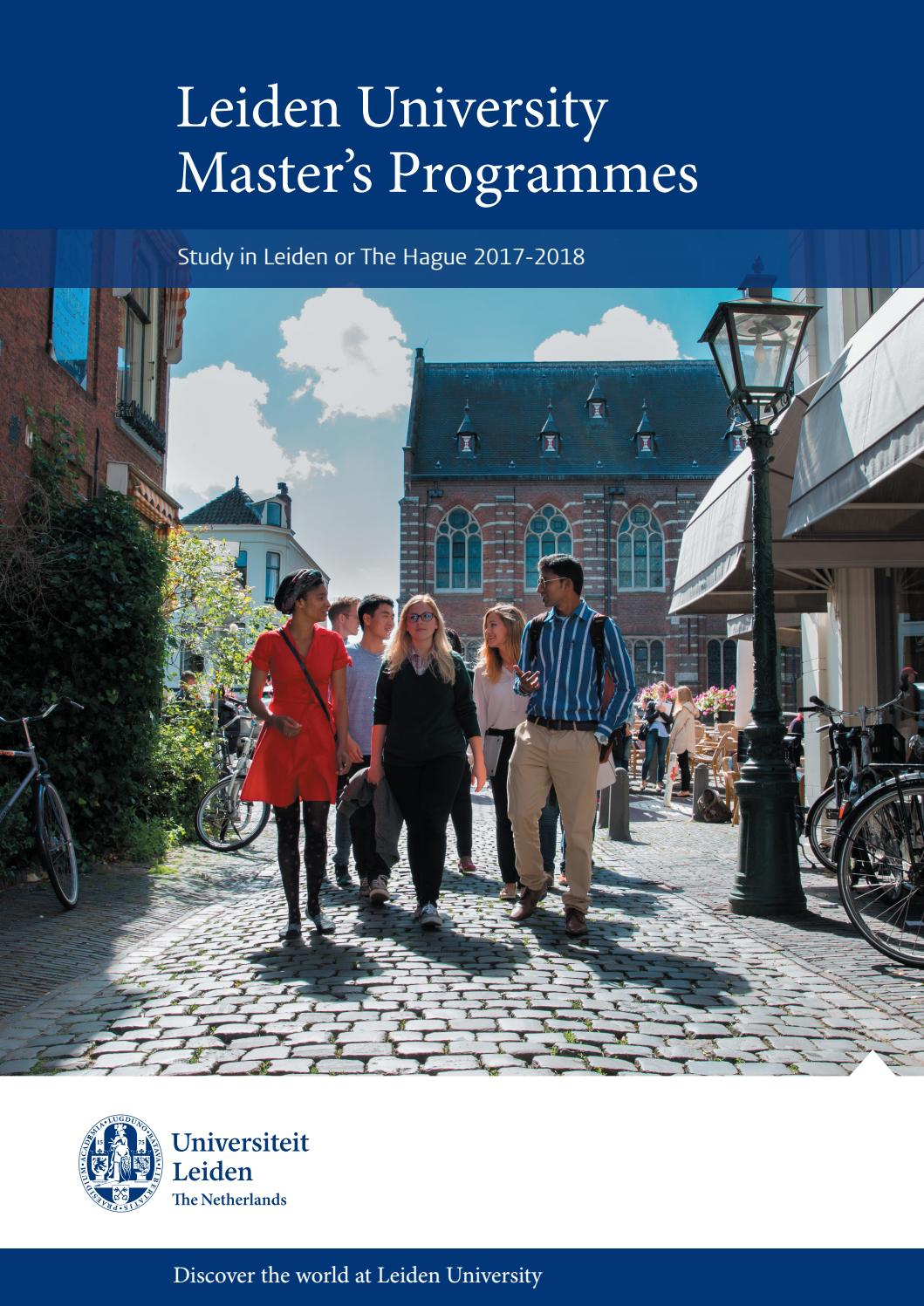 Albert Einstein Education >> Leiden University master's brochure by Universiteit Leiden ...
