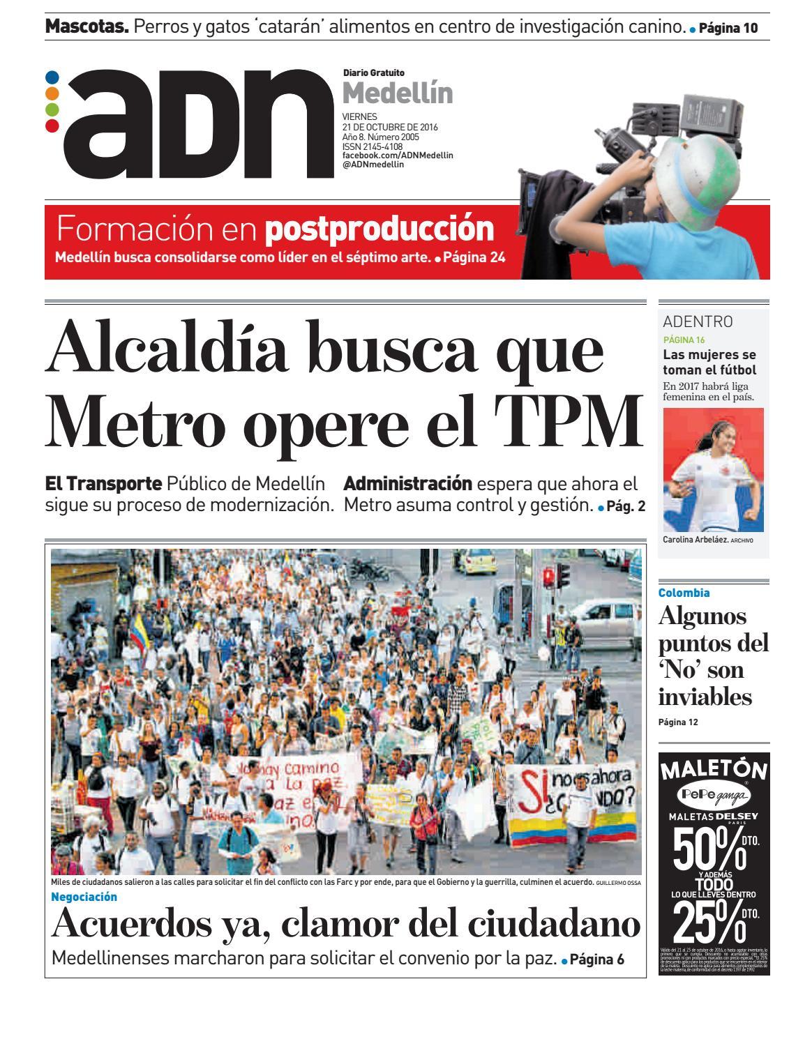 0484dda7fa 21 de octubre Medellín by diarioadn.co - issuu