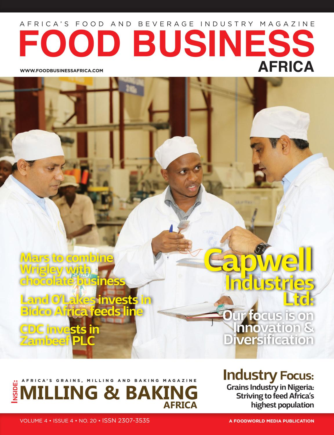 Food Business Africa Sept/Oct 2016 by FoodWorld Media - issuu