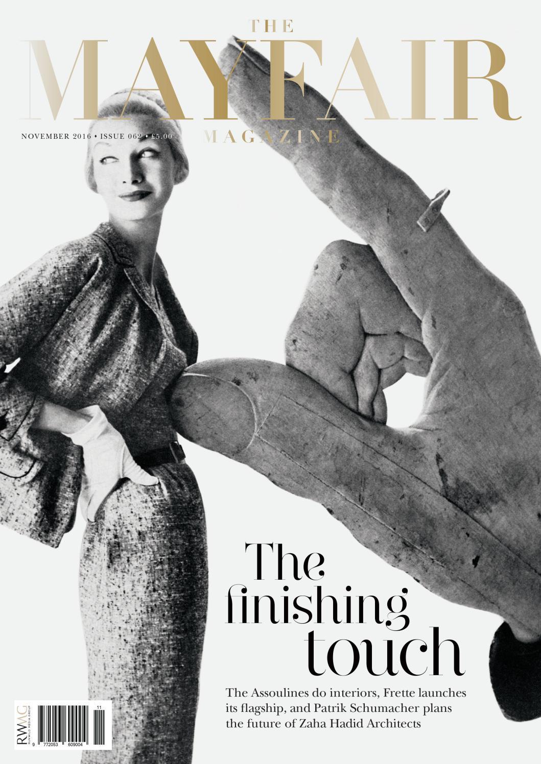 32c65d382fb4 The Mayfair Magazine November 2016 by Runwild Media Group - issuu