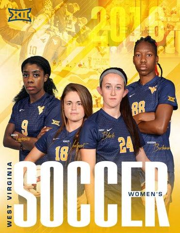 fc42a5c41c9 2016 WVU Women s Soccer Guide by Joe Swan - issuu
