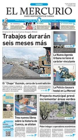 hemeroteca 21-10-2016 by Diario El Mercurio Cuenca - issuu 031decb82bf02