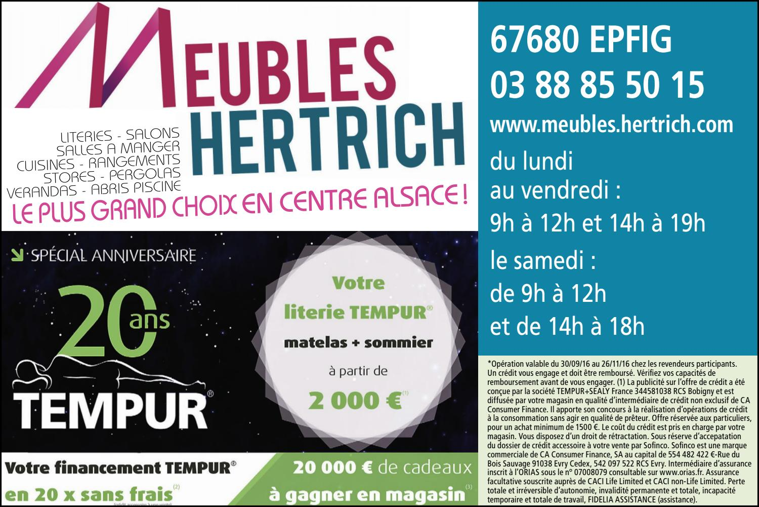 Meubles hertrich by r publicain lorrain issuu for Meubles hertrich