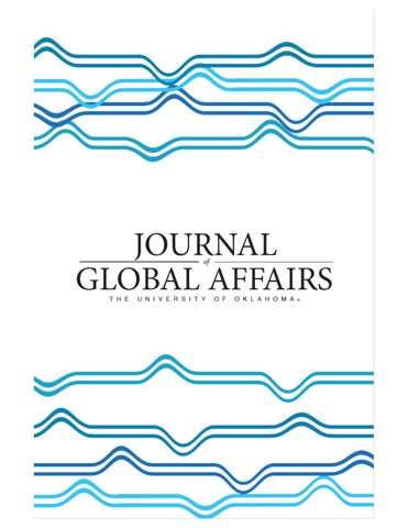 Journal Of Global Affairs By Ou College Of International Studies Issuu