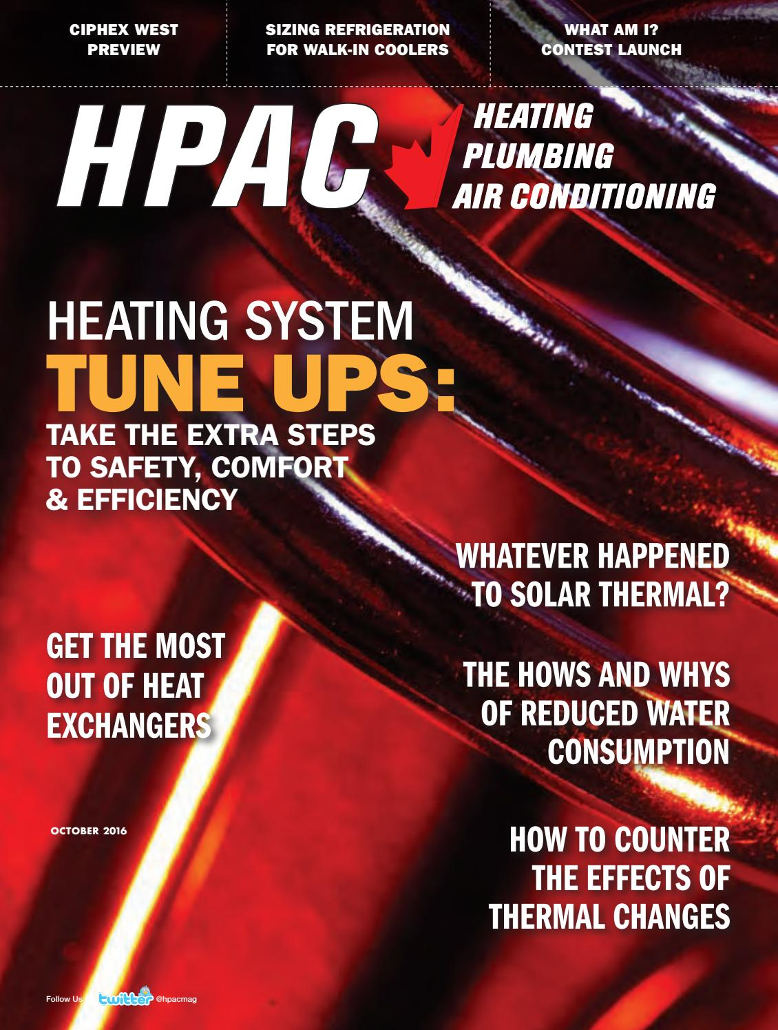 Hpac November 2016 By Annex Newcom Lp Issuu For An Apollo Hydronic Air Handler That Has A Wiring Diagram The Pdf